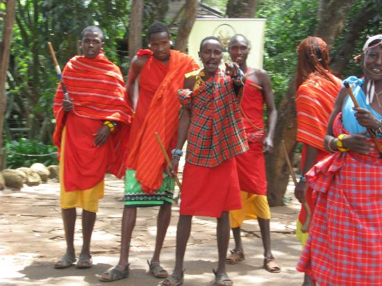 Nairobi National Park: Masaï