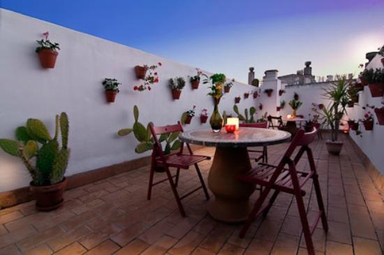 Hotel Un Patio al Sur : terrace