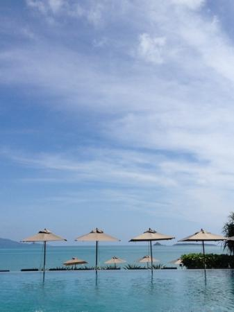 Hansar Samui Resort: photogenic infinity pool