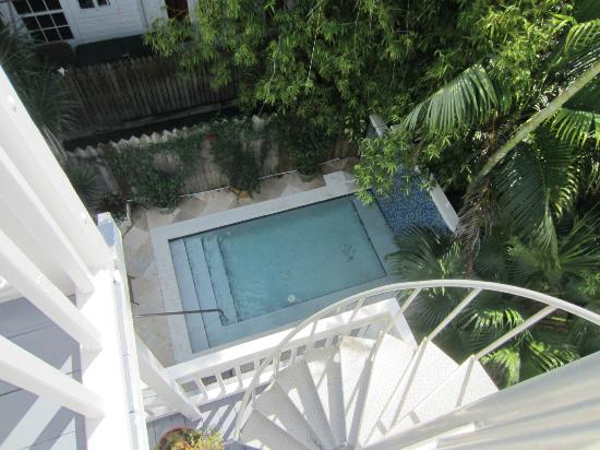 Artist House on Fleming: Jacuzzi Pool view from the 3rd floor