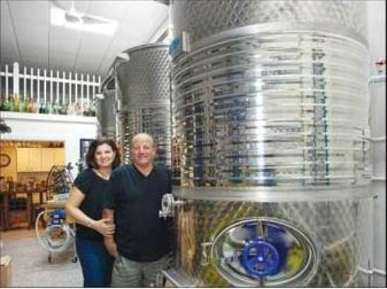 Catania's Winery: Master Vinters John and Margherita Catania.