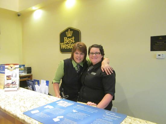 Best Western Plus Woodstock Hotel & Conference Centre: very friendly staff