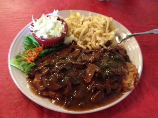Sierra Vista, AZ: Jäger Schnitzel