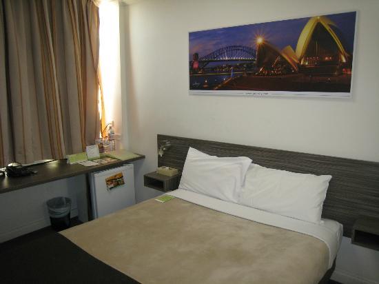 Leisure Inn Sydney Central : 部屋(シングルルーム)