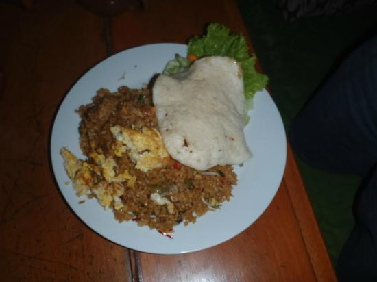Kampung Daun: Nasi goreng kampung, Village fried rice