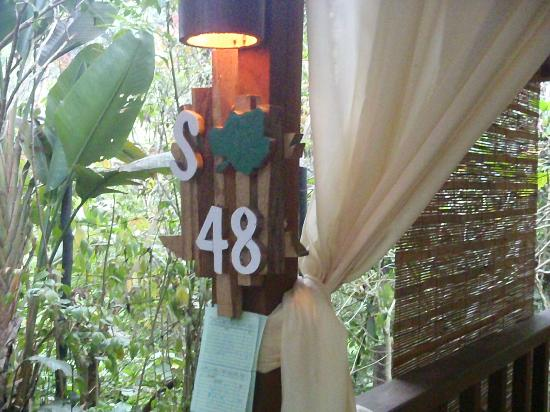 Kampung Daun: Our Pondok S48, cooling and refreshing