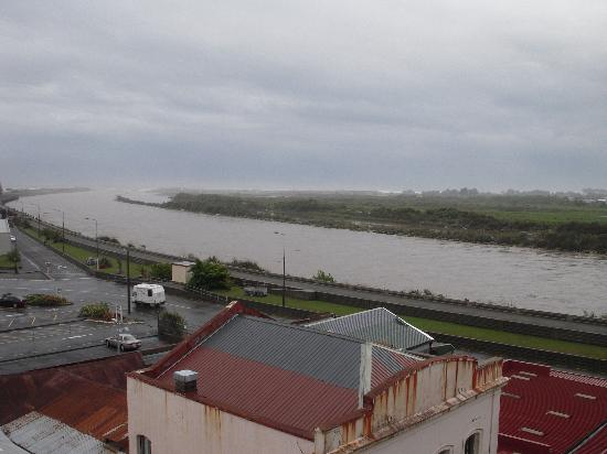 Kingsgate Hotel Greymouth: View from our room