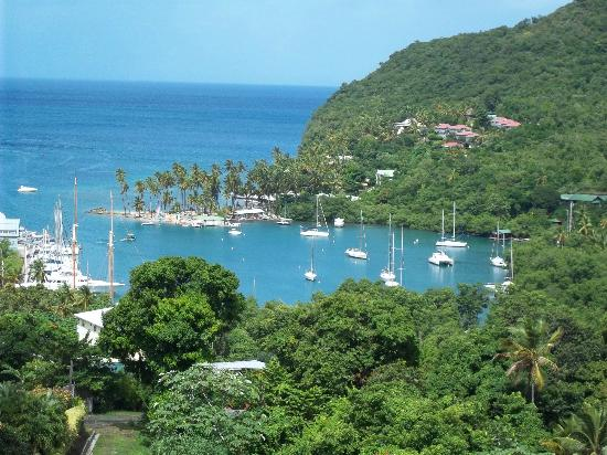 A-Touring Services Private Tours: Marigot Bay
