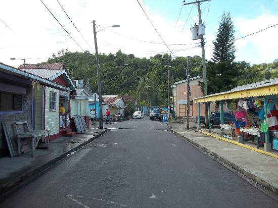 A-Touring Services Private Tours: Streets of anse La Raye