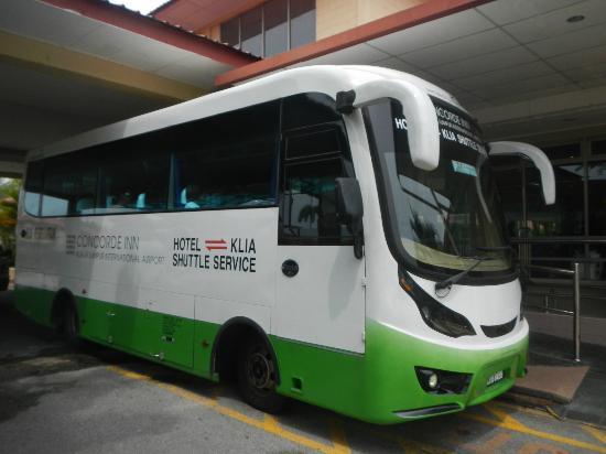 Concorde Inn Kuala Lumpur International Airport: KLIA shuttle bus.