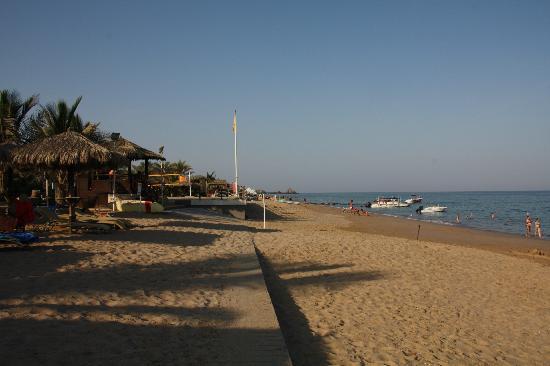 Le Meridien Al Aqah Beach Resort : plage