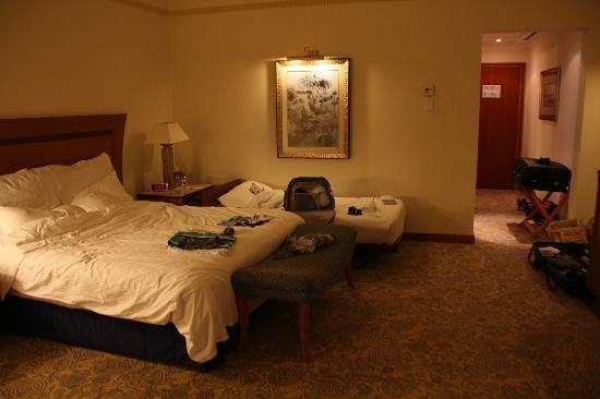 Le Meridien Al Aqah Beach Resort : Chambre