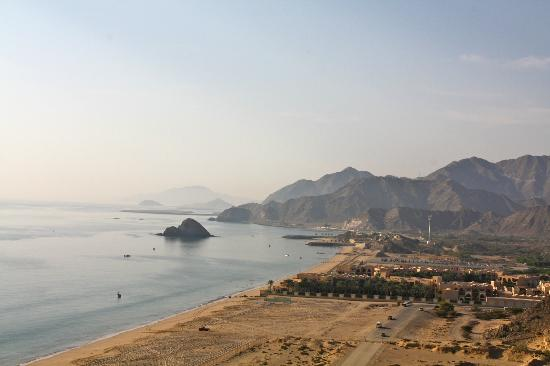 Le Meridien Al Aqah Beach Resort : du balcon