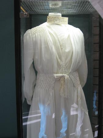 Alaska Veterans Museum: Find out the story of this wedding dress.