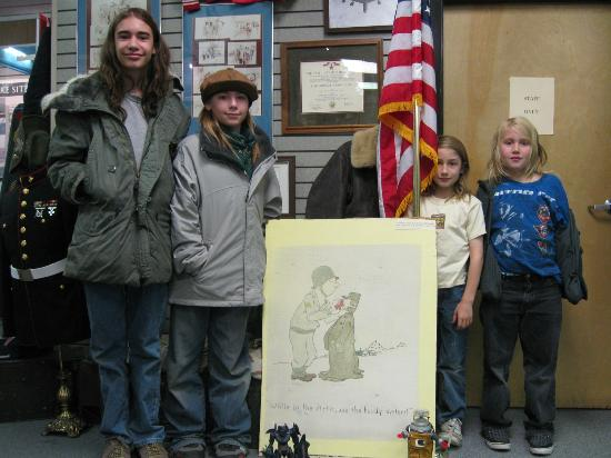 """Hogboys give the Alaska Veterans Museum a 10 on the """"Cool Scale""""."""