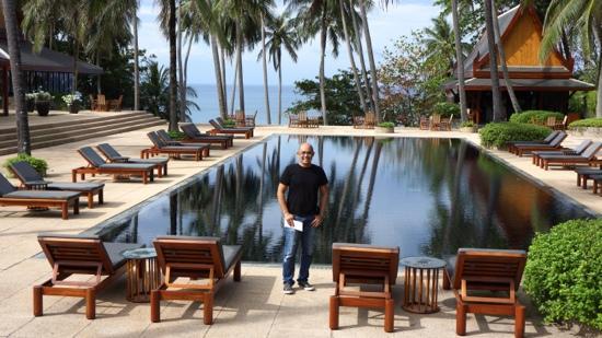 Main pool, Amanpuri, Phuket, Thailand