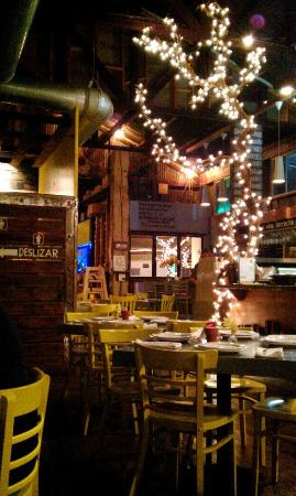 A view of the restaurant - Picture of El Taller Baja Med Cocina ...