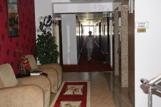 Hotel Delta Yss: koridor görünüm
