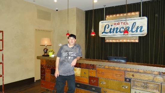 Hotel Lincoln, a Joie de Vivre Hotel: reception