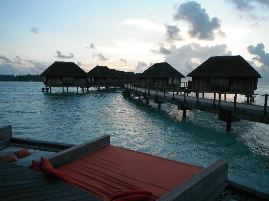 Club Med Kani: A view from the Manta lounge
