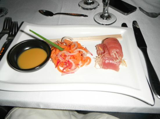 Club Med Kani: Sashimi entree one night