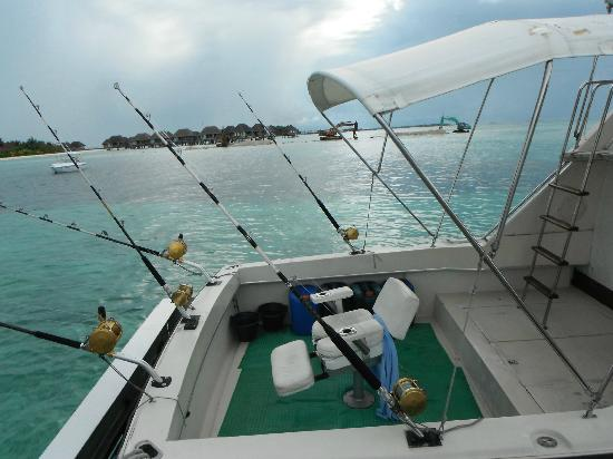 Club Med Kani: The game fishing boat