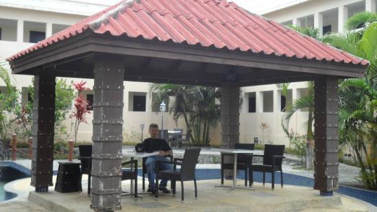 Scenic Hotel Tonga : Outside Area