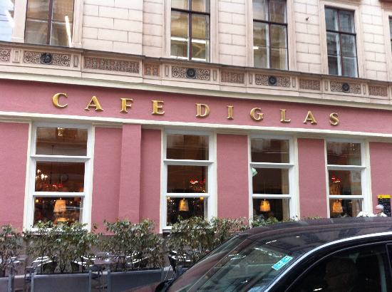 Café Diglas: 外観