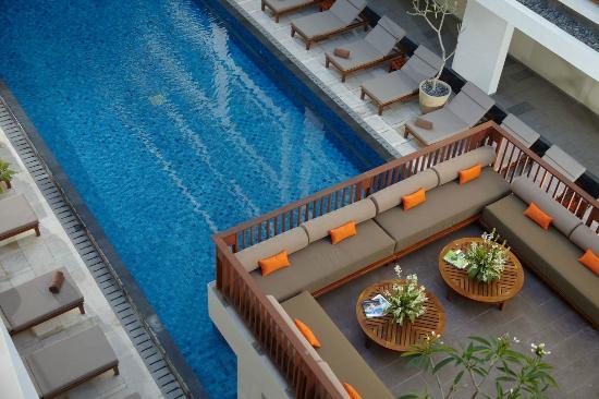 The Magani Hotel and Spa : Pool Top Lounge
