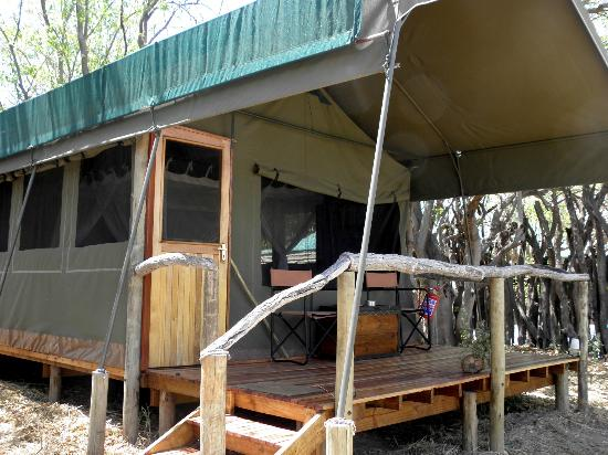 Sango Safari Camp: The tents