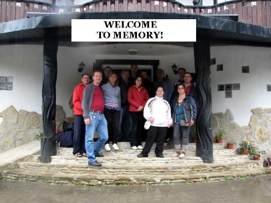 Pensiunea Memory: WELCOME
