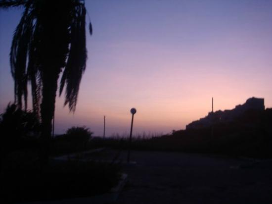 Hostal Cattan: sunset