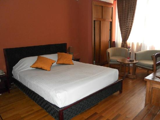 Sharon Hotel : chambre luxe double