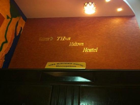 Tiba Midtown Hostel: Tiba Hostel Cairo Receiption