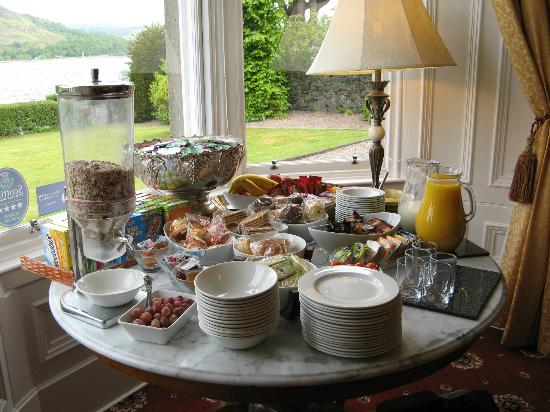Buccleuch Guest House: Breakfast at Buccleuch