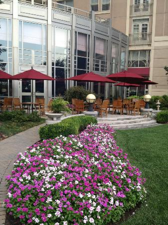 Mandarin Oriental, Washington DC: Beautiful view of hotel grounds