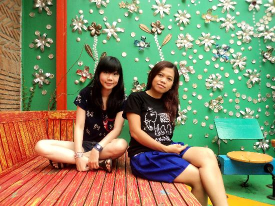 Silom Art Hostel: we had a nice stay in silom art ^^