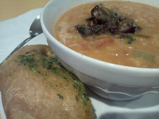 Books for Cooks : soup and bread
