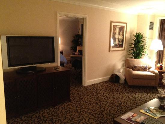 Four Seasons Hotel Las Vegas: Livingroom