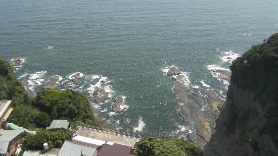 Enoshima Island : Coté pacifiue