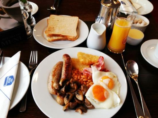 Best Western Fowey Valley: breakfast time!