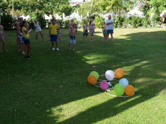 Papillon Ayscha Hotel Resort & Spa : Javalot game