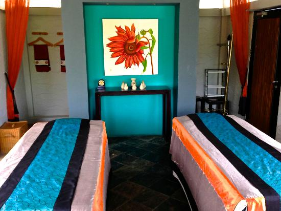 Angsana Bintan: Spa area for couples massage