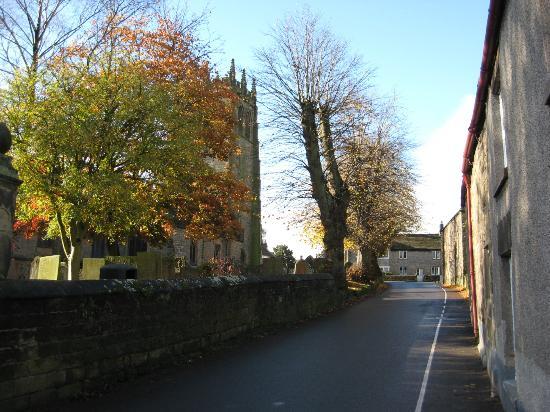 The Farmyard Inn: The Main Street through Youlgreave
