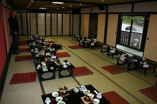 Futarishizuka Hakuun: Frühstück