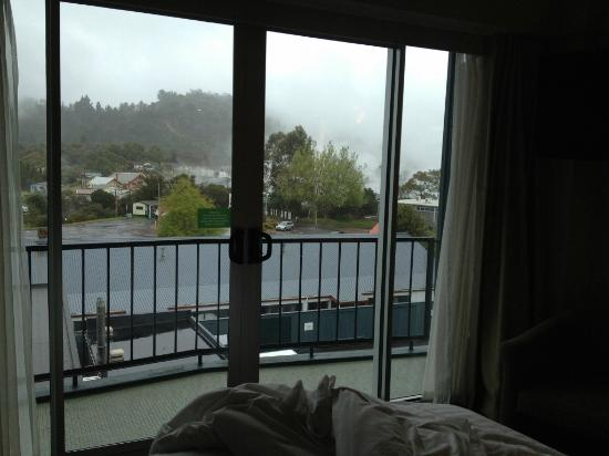 Holiday Inn Rotorua : View out the back