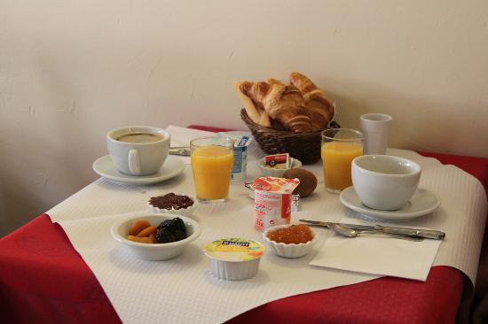 Lou Marques: petit dejeuner copieux