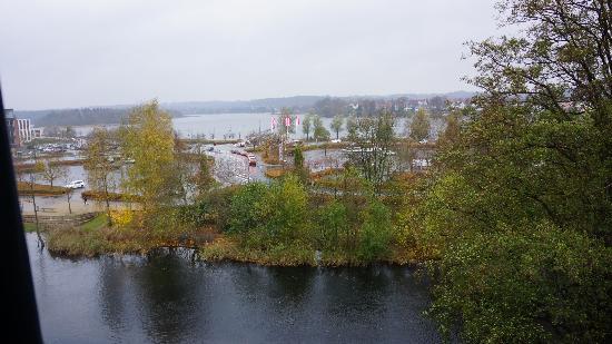 Radisson Blu Papirfabrikken Hotel, Silkeborg: Панорма из номера