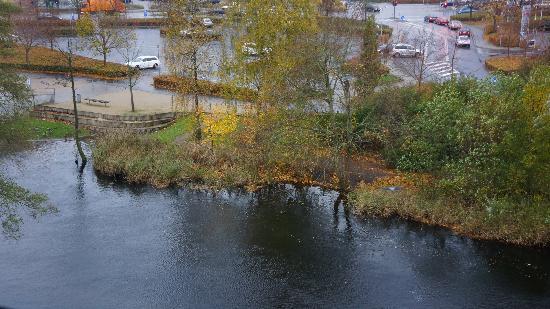 Radisson Blu Papirfabrikken Hotel, Silkeborg: Вид из окна