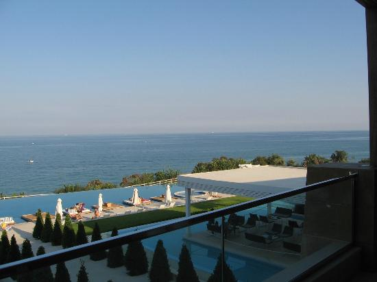 Cavo Olympo Luxury Hotel & Spa: View from our suit